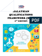 malaysian qualifications framework  mqf  2nd edition