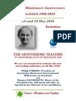 30th Montessori Anniversary