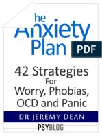 Anxiety Plan - Dr Jeremy Dean