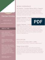Web Developer Sample Resume1
