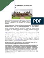 Bangunan Dan Keunikannya Dari Sumatera Barat