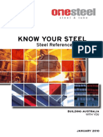 OSST Know Your Steel Guide January 2010