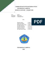 Laporan Akhir Pelaksanaan Kkn Unila Periode 1 2018