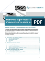 Methode d Evaluation d Une Entreprise