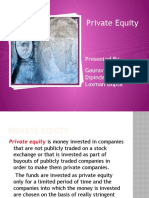 Final Ppt on Private Equity