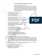 NTSE LCT Stage 2 Solved Paper 2014
