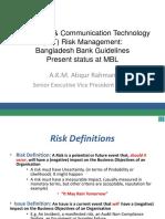 ICT Security Risk Management