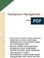 Transaction Management-1 Ina