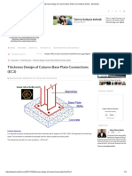 Thickness Design of Column Base Plate Connections (EC3) - Structville..