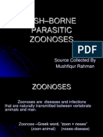 Fish Parasitic Zoonoses