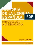 Historia de La Lengua Espanola_ - Zavadil, Bohumil