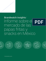 Informe de Brandwatch Snacks Mexico