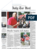 The Daily Tar Heel for September 17, 2010