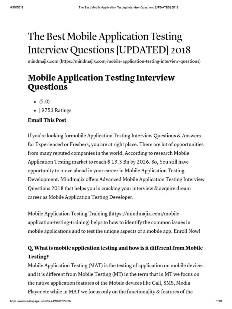 Siteminder interview questions