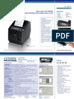 Citizen CT S801 Www.trridevlabelss