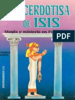 Edouard Schure-La Sacerdotisa de Isis