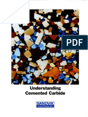 SANDVIK Understanding cemented carbide pdf | Young's Modulus