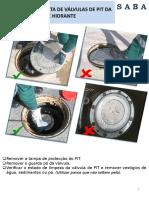 Utilização Correcta de Válvulas de Pit Da Rede