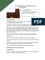 INICIO- Los Pueblos Originarios Que Habitan en La Argentina y Mendoza