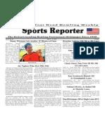 April 11 - 17, 2018  Sports Reporter