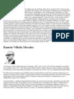Biografias de HONDUREÑOS