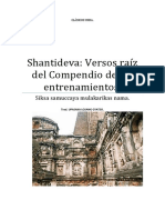 Shantideva Versos Raiz Del Compendio de Los Entrenamientos