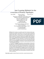 New Machine Learning Methods for the Prediction of Protien Topologies