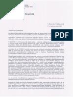 Odpověď MZV na interpelaci ve věci usnesení PS PČR k politizaci UNESCO a jeho naplňování