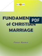 PB Christian Marriage