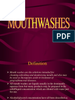 Mouth Washes