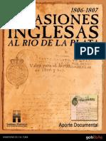 Invasiones Inglesas Documentos