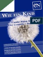 CNS 1305 Wie Ein Kind PH