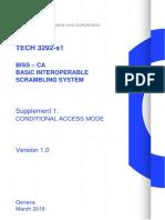 BISS – CA Basic Interoperable Scrambling System