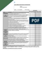 Pauta Validar Instrumento Evaluación