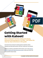 kahoot academy getting started guide 2nd ed - june 2016