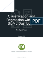 BigML Classification and Regression 2.1