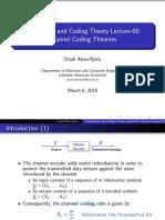 coding theorem