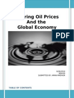 The Effect of Oil Prices on Global Economy