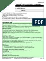 ATV900 Communication Parameters NHA80944 V1.2