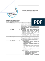 Standar Operasional Prosedur Komunikasi Terapeutik 1