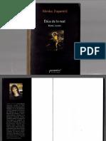 Zupancic - Ética de lo real - Kant, Lacan.pdf