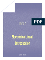 Electronica Lineal