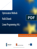 Optimization Methods LP