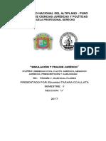 Fraude Civil y Simulación