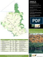 Bushwalking Tracks Brochure 2014