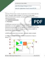 TP3 4 Applications a Base de Circuit NE555