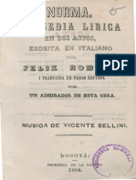 1864 Norma, tragedia lírica