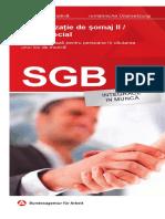 Merkblatt Sozialgesetzbuch II (SGB II) Eingliederung in Arbeit