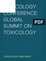 Toxicology Conference