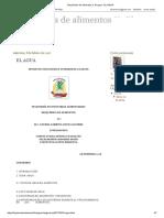 Bioquímica de Alimentos II. El Agua _ EL AGUA